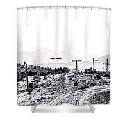 Landscape Galisteo Nm J10u Shower Curtain