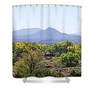 Landscape Galisteo Nm K10e Shower Curtain