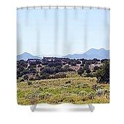 Landscape Galisteo Nm K10h Shower Curtain