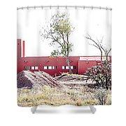 Landscape Galisteo Nm K10l Shower Curtain