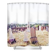 Landscape Galisteo Nm K10p Shower Curtain