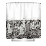 Landscape Galisteo Nm K10r Shower Curtain