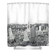 Landscape Galisteo Nm K10s Shower Curtain