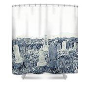 Landscape Galisteo Nm K10t Shower Curtain