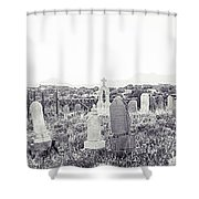 Landscape Galisteo Nm K10z Shower Curtain