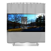Landscape Ia A Box Shower Curtain