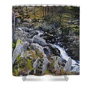 Landscape In Snowdonia Shower Curtain