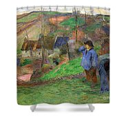 Landscape Of Brittany Shower Curtain