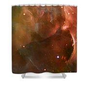 Landscape Orion Nebula Shower Curtain