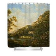 Landscape Painter Shower Curtain