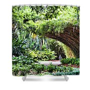 Landscape Rip Van Winkle Gardens Louisiana  Shower Curtain