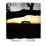 Landscape Roman Campagna Italy Shower Curtain