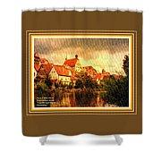 Landscape Scene - Germany. L A With Alt. Decorative Ornate Printed Frame. Shower Curtain