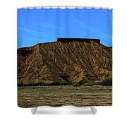 Landscape Scenery Valley Of Fire  Shower Curtain