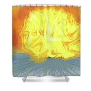 Landscape Sunrise Shower Curtain