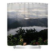 Landscape Tropical Shower Curtain