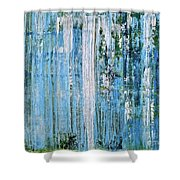 Landscape Waterfall Shower Curtain