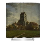 Landscape With Buildings Shower Curtain