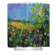 Landscape With Cornflowers 459060 Shower Curtain