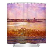 Landscape With Island 008 01 01 2016 Shower Curtain
