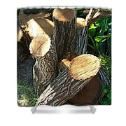 Landscaper Art Shower Curtain