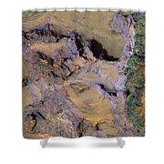 Landslide  Shower Curtain
