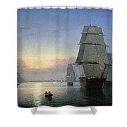 Lane: Boston Harbor Shower Curtain