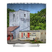 Lanesboro Grain Elevator Shower Curtain