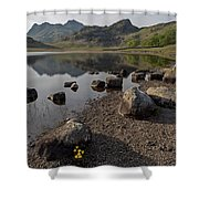 Langdale Pikes And Blea Tarn Shower Curtain