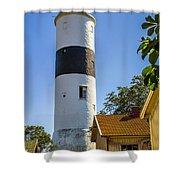 Lange Jan Lighthouse Shower Curtain