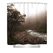 Langtang Morning Shower Curtain