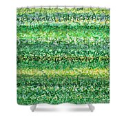 Language Of Grass Shower Curtain