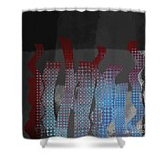 Languettes 02 - J122129076-f22b Shower Curtain
