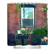 Lanier Winery Bistro Table Shower Curtain