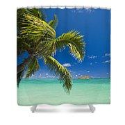Lanikai Seascape Shower Curtain