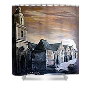 Lanrelas Church  Shower Curtain