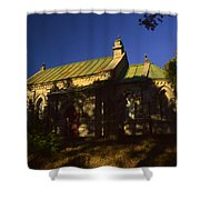 Lansdowne Church 4 Shower Curtain