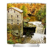 Lantermans Mill In Fall Shower Curtain