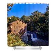 Lanterman's Mill Shower Curtain