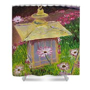 Lantern And Friends Shower Curtain
