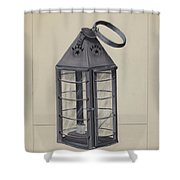 Lantern Shower Curtain
