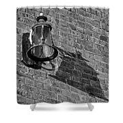Lantern Shadow Shower Curtain