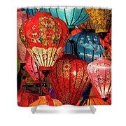 Lanterns Shower Curtain
