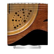 Lap Guitar I Shower Curtain