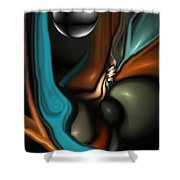 Lapidary Dream Revisited Shower Curtain
