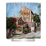Lapin Agile Shower Curtain