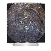 Lapland Shaman Drum Shower Curtain