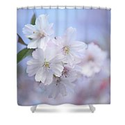 L'aquarelle Printemps Shower Curtain