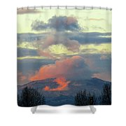 Wyoming Sunsets 1 Shower Curtain