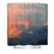 Wyoming Sunsets 2 Shower Curtain